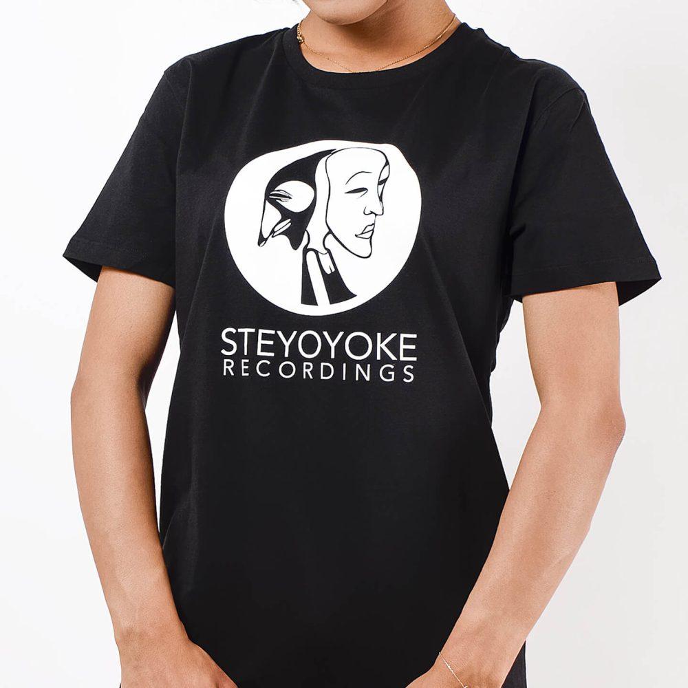 Steyoyoke-Tshirt-Logo-Black-Unisex