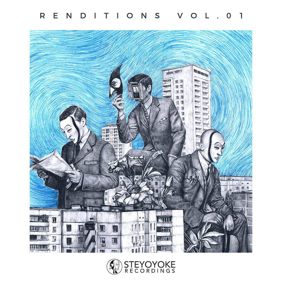 SYYK123 - Steyoyoke - Renditions Vol 01 - Soul Button Clawz SG Nick Devon Monarke Strinner