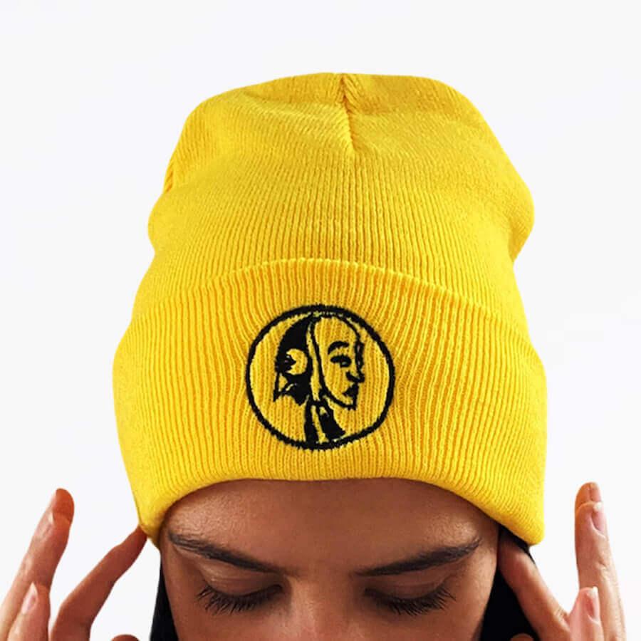 Steyoyoke Yellow Beanie