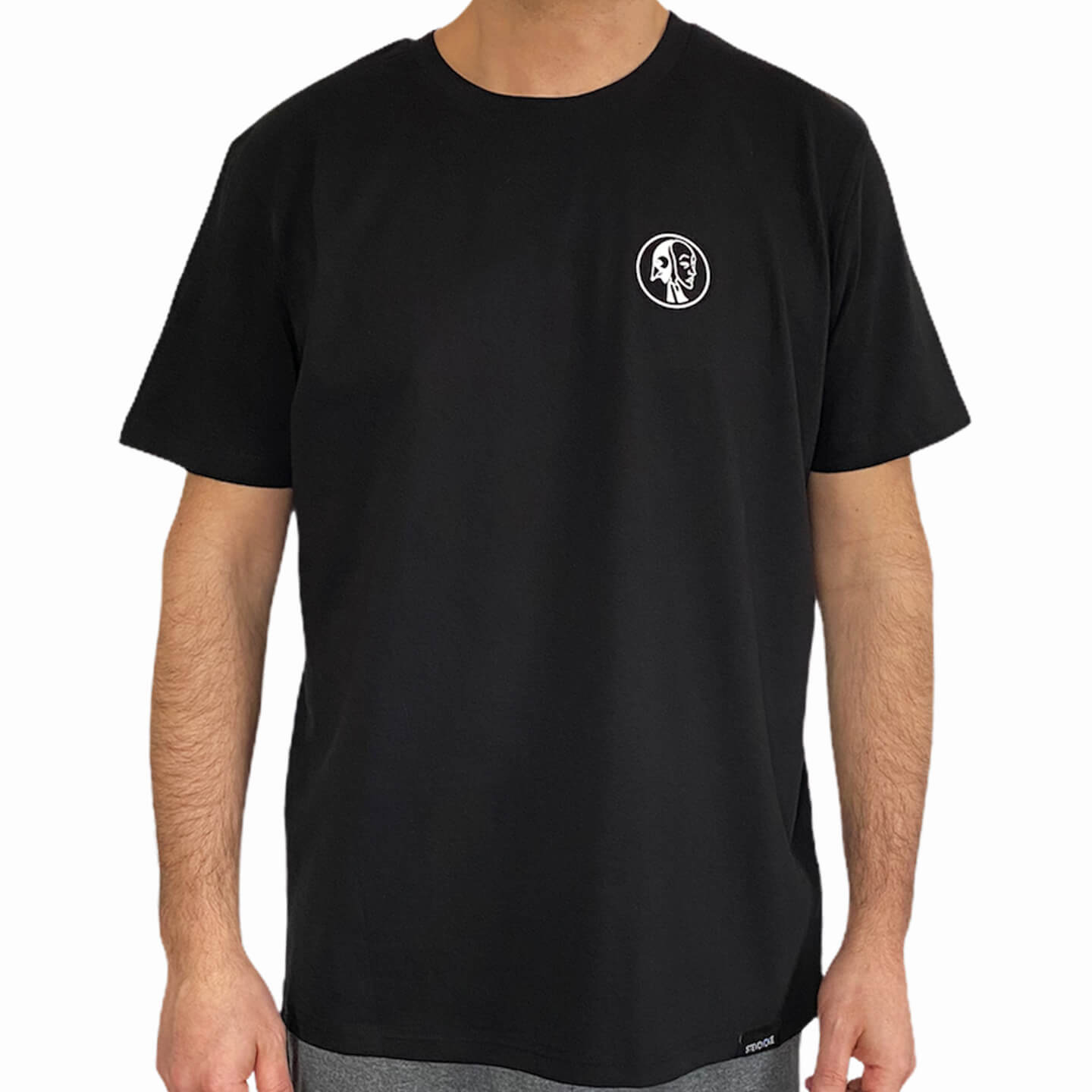 UNISEX-MINI-LOGO-T-SHIRT-BLACK